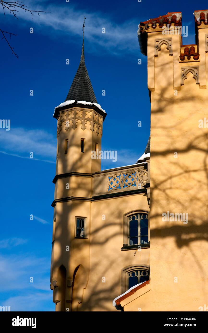 Hohenschwangau Castle Bavaria Germany - Stock Image