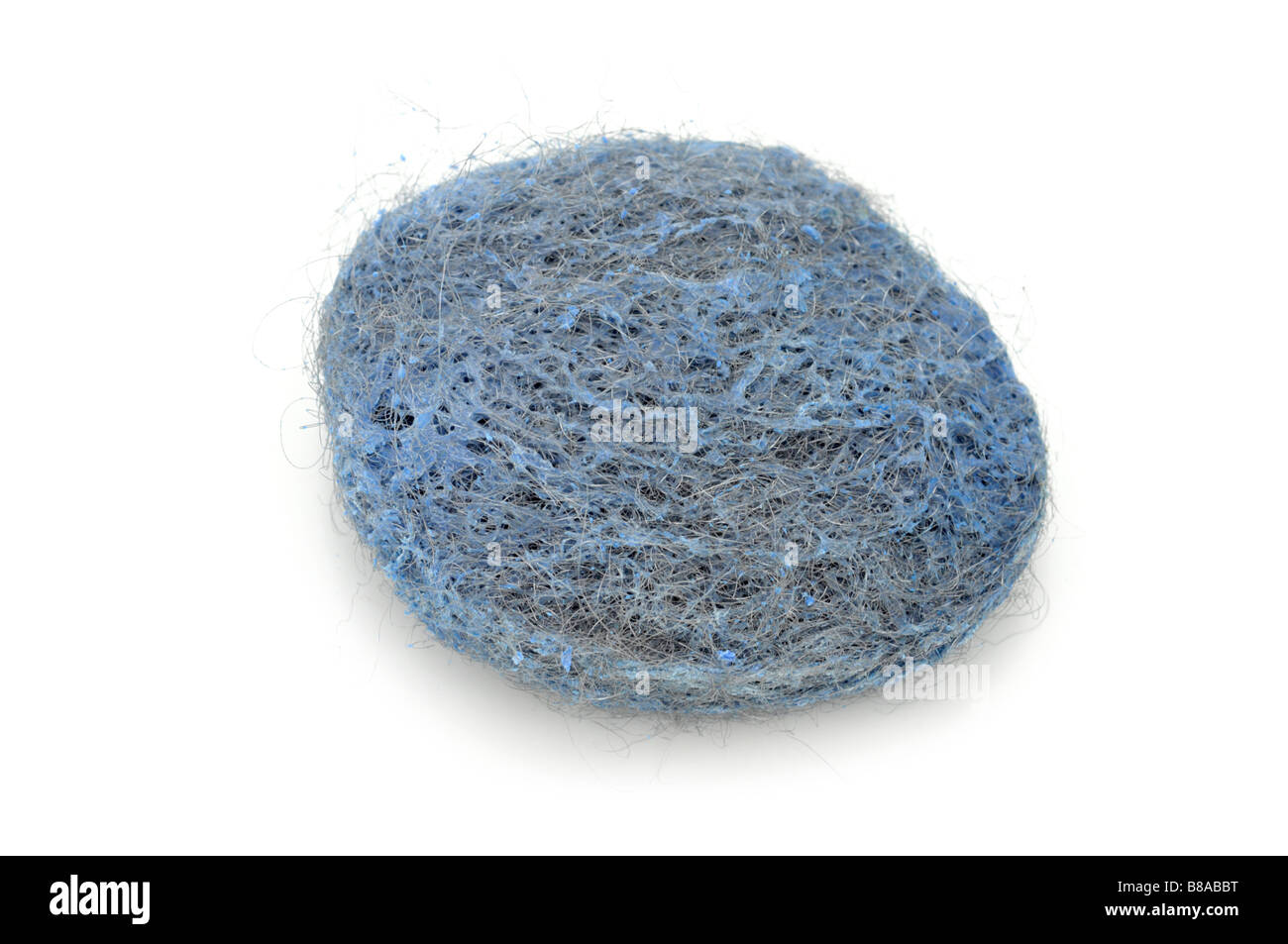 Steel Wool Soap pad - Stock Image