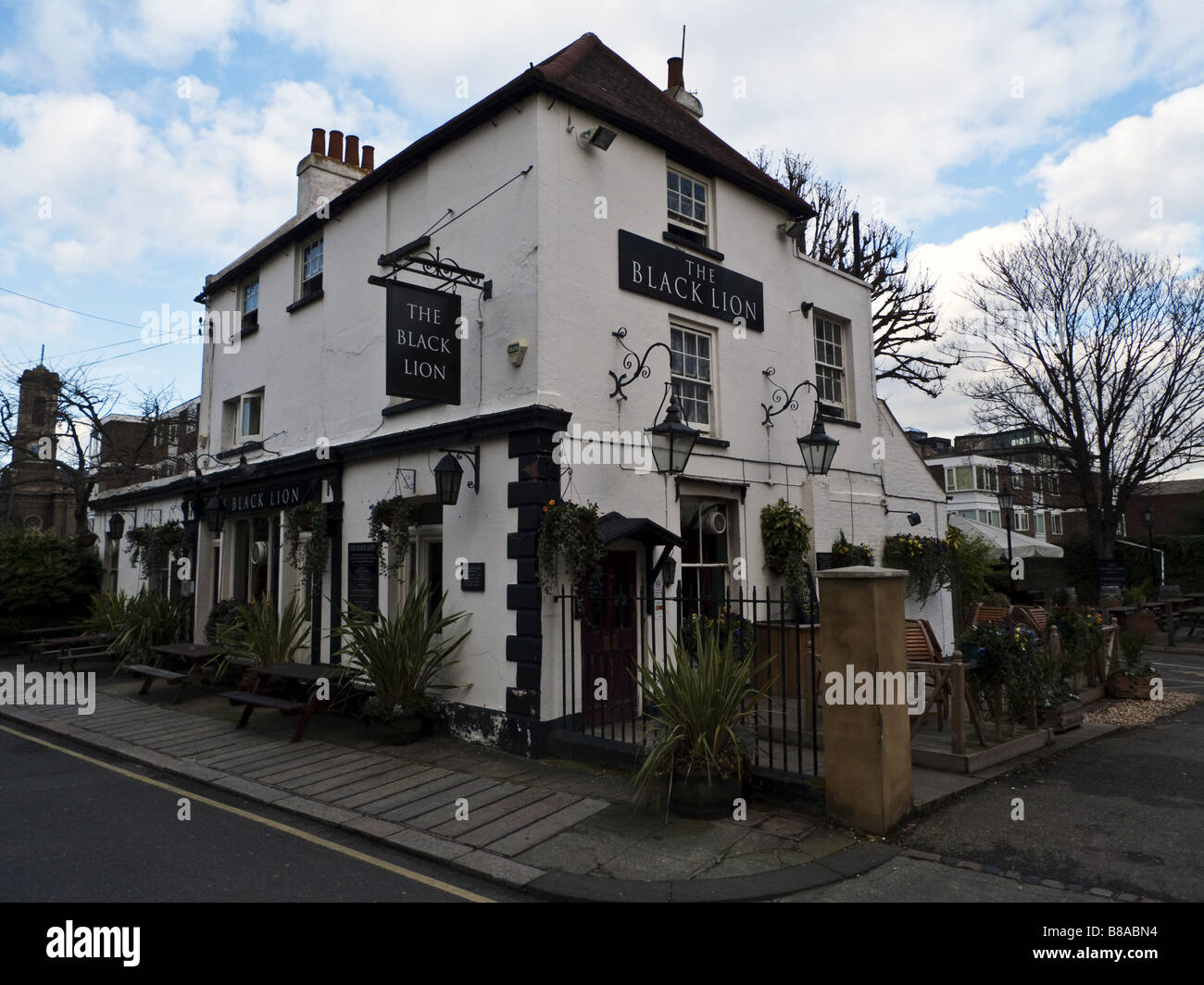 Black Lion Pub, Chiswick - Stock Image