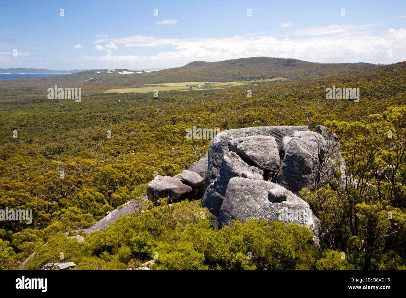 Monkey Rock near Denmark Western Australia Stock Photo