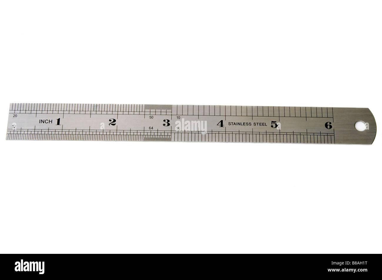 Metal Ruler Cut Out Stock Photos & Metal Ruler Cut Out Stock ...