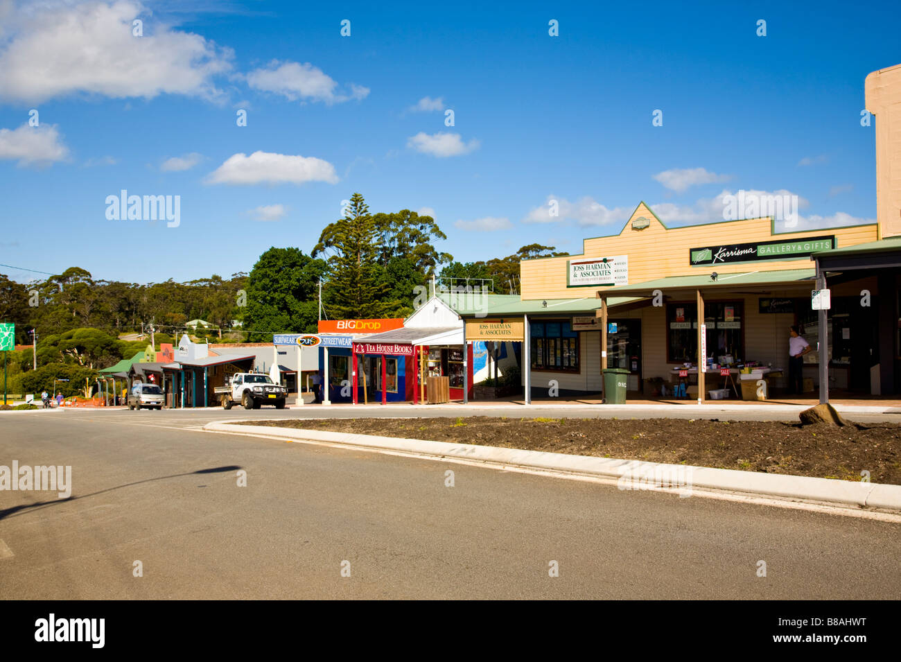 Street Scene Denmark Western Australia wa Stock Photo