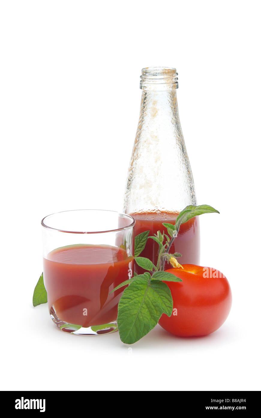 Tomatensaft tomato juice 04 - Stock Image