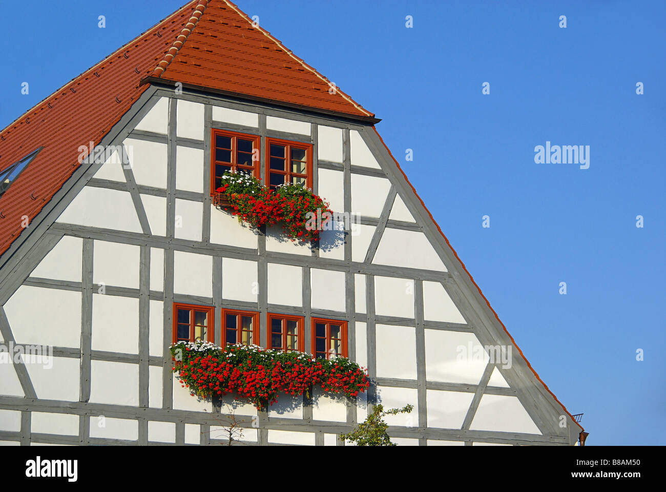 Fachwerkhaus half timber house 02 - Stock Image
