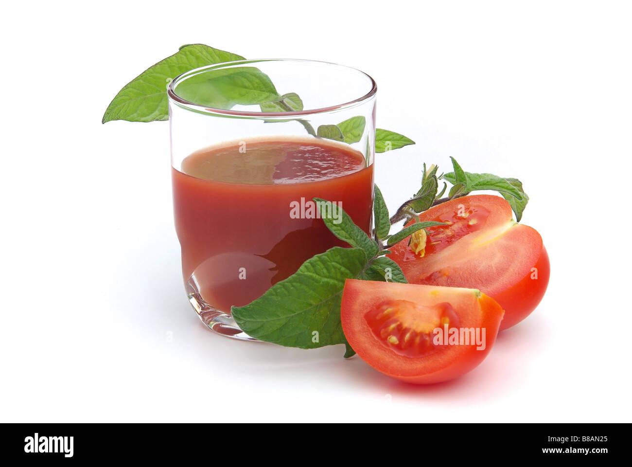 Tomatensaft tomato juice 08 - Stock Image