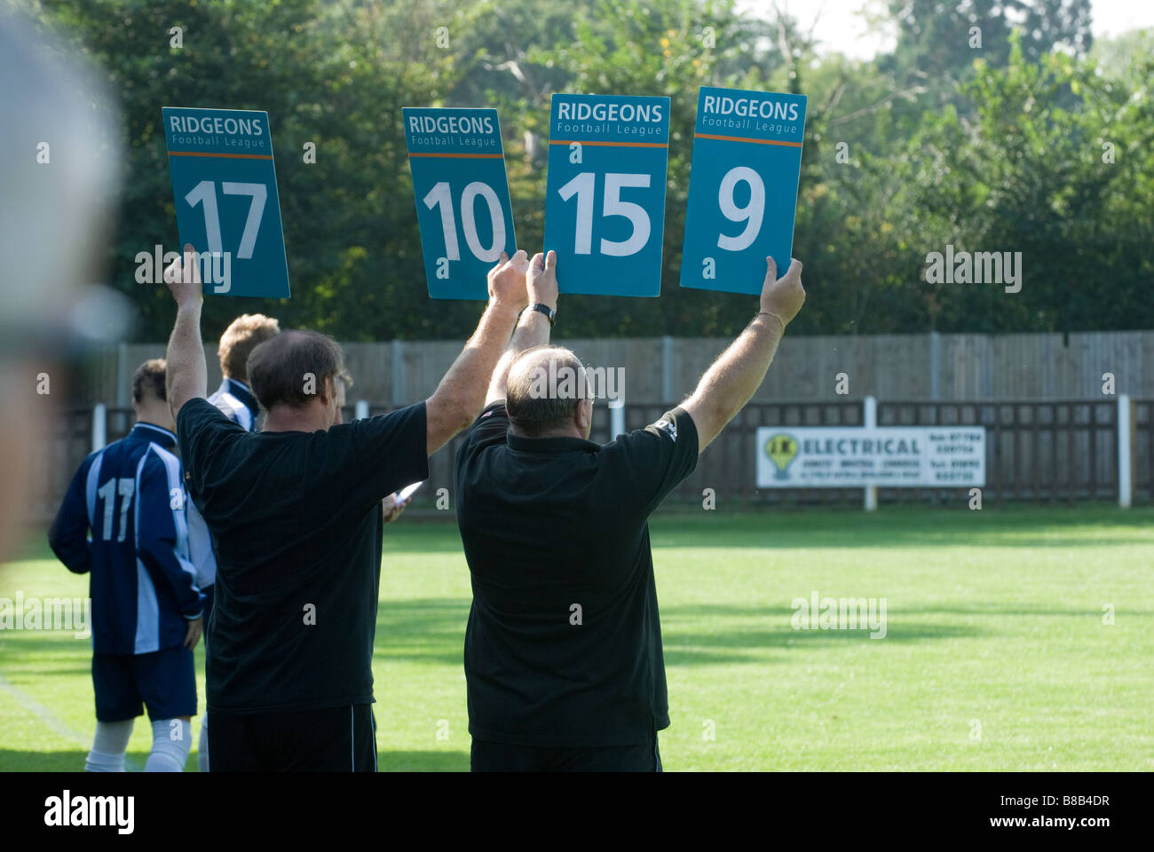 substitutions - Stock Image