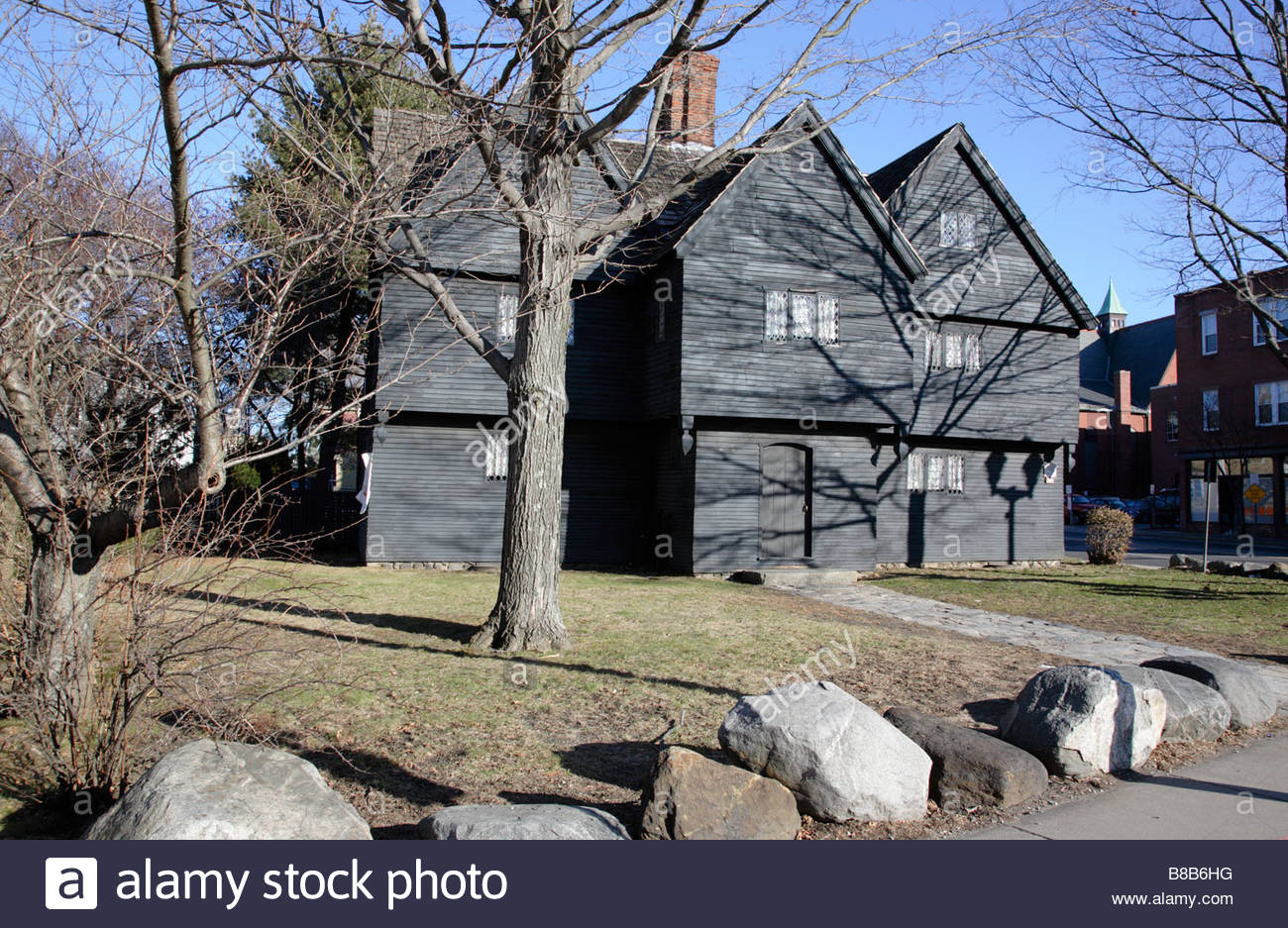 Salem witch house in salem massachusetts usa which is part for Salem house