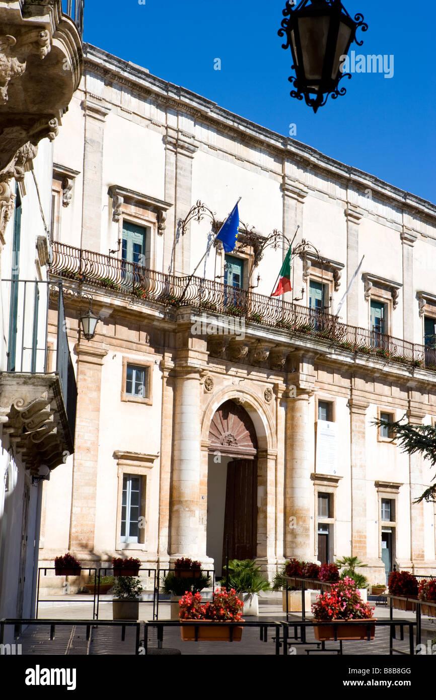 Martina Franca Puglia Italy - Stock Image