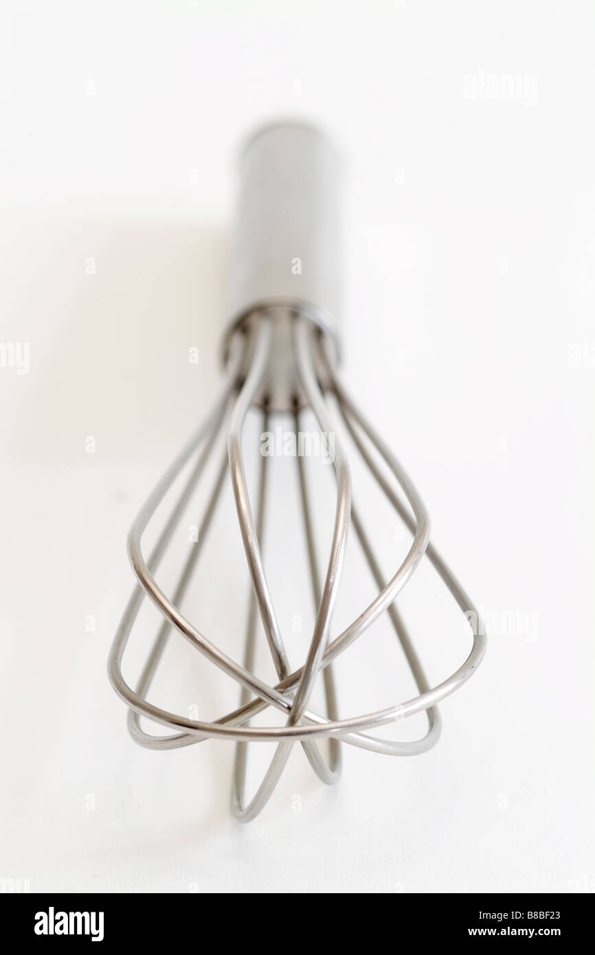 FV5245, zoomphotographics; Stainless Steel Whisk - Stock Image