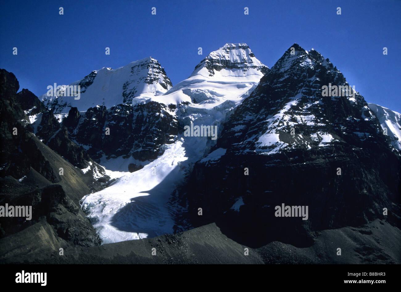 Mt Condoriri, Cordillera Real, Bolivia - Stock Image