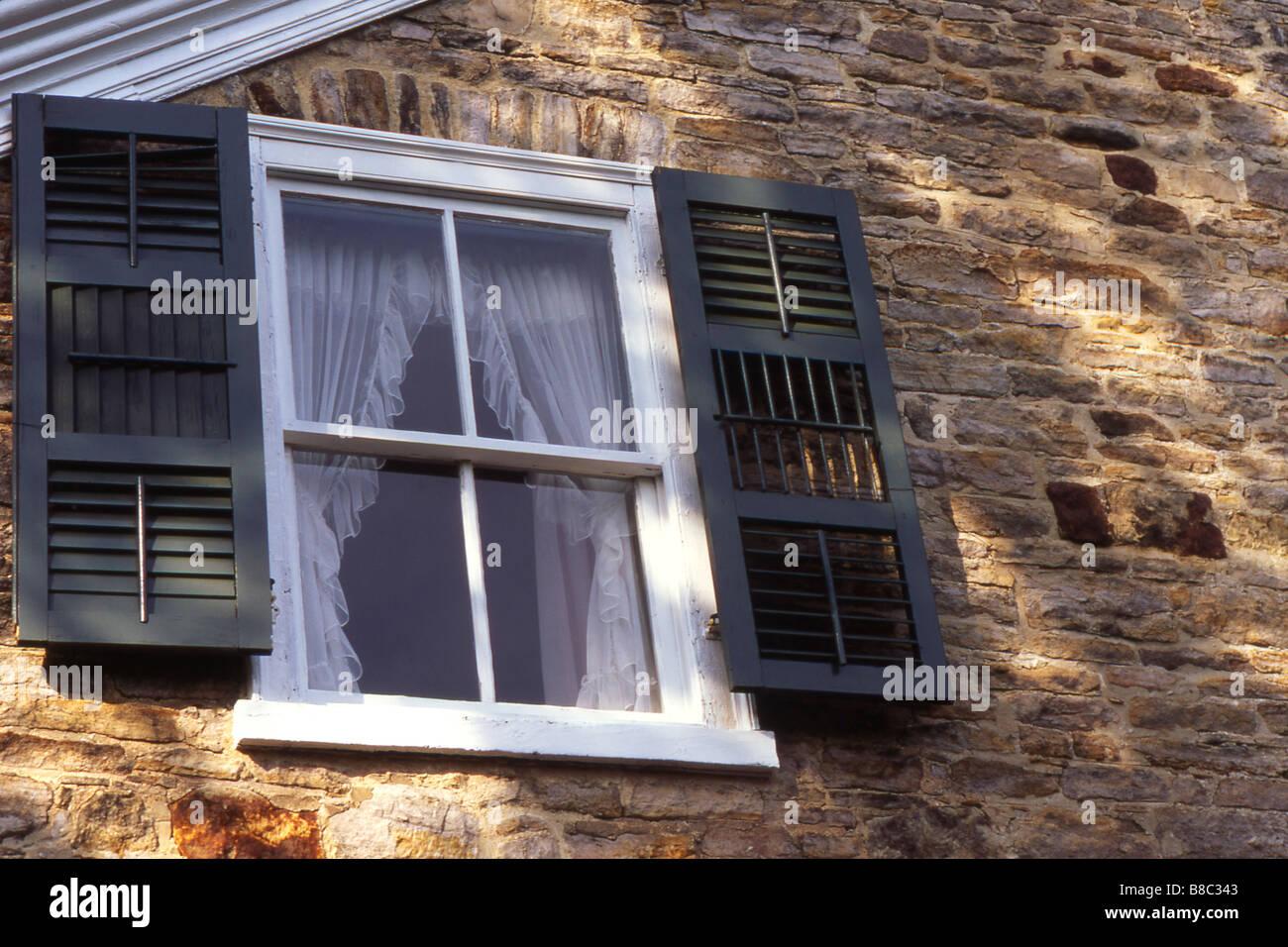 Inge-Va House Est  1823, Perth,Ontario Stock Photo
