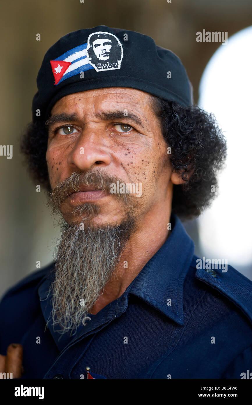 Che Gueverra look alike, Havana, Cuba - Stock Image