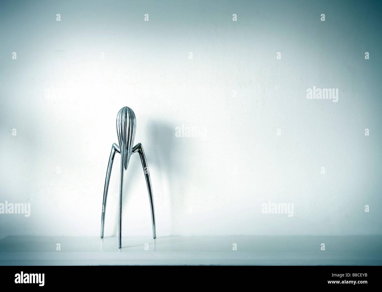 A Philipp Stark Philippe Starck  Lemon squeezer - Stock Image
