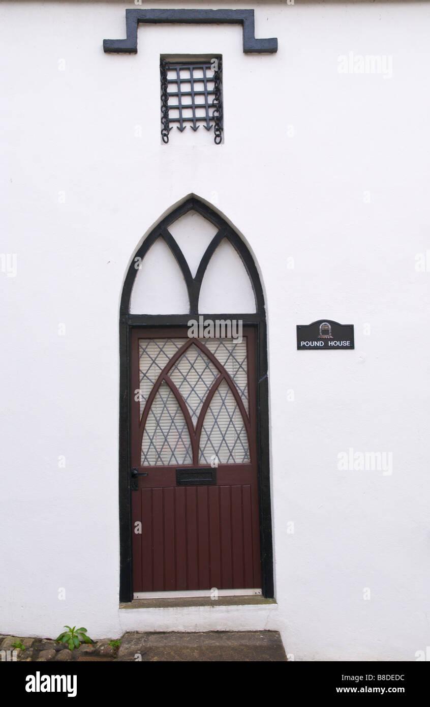 Gothic Cottage Windows Stock Photos Amp Gothic Cottage