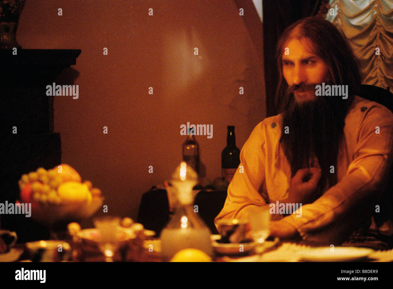 Leningrad, Russia, Rasputin just before his assasination, He was shot by Prince Felix Yusopov and thrown into the - Stock Image