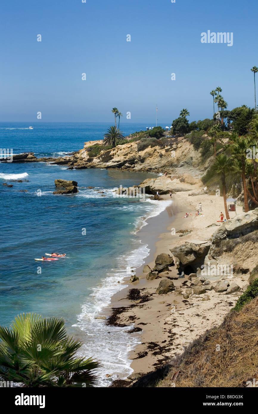 Shoreline  Laguna Beach, California Stock Photo