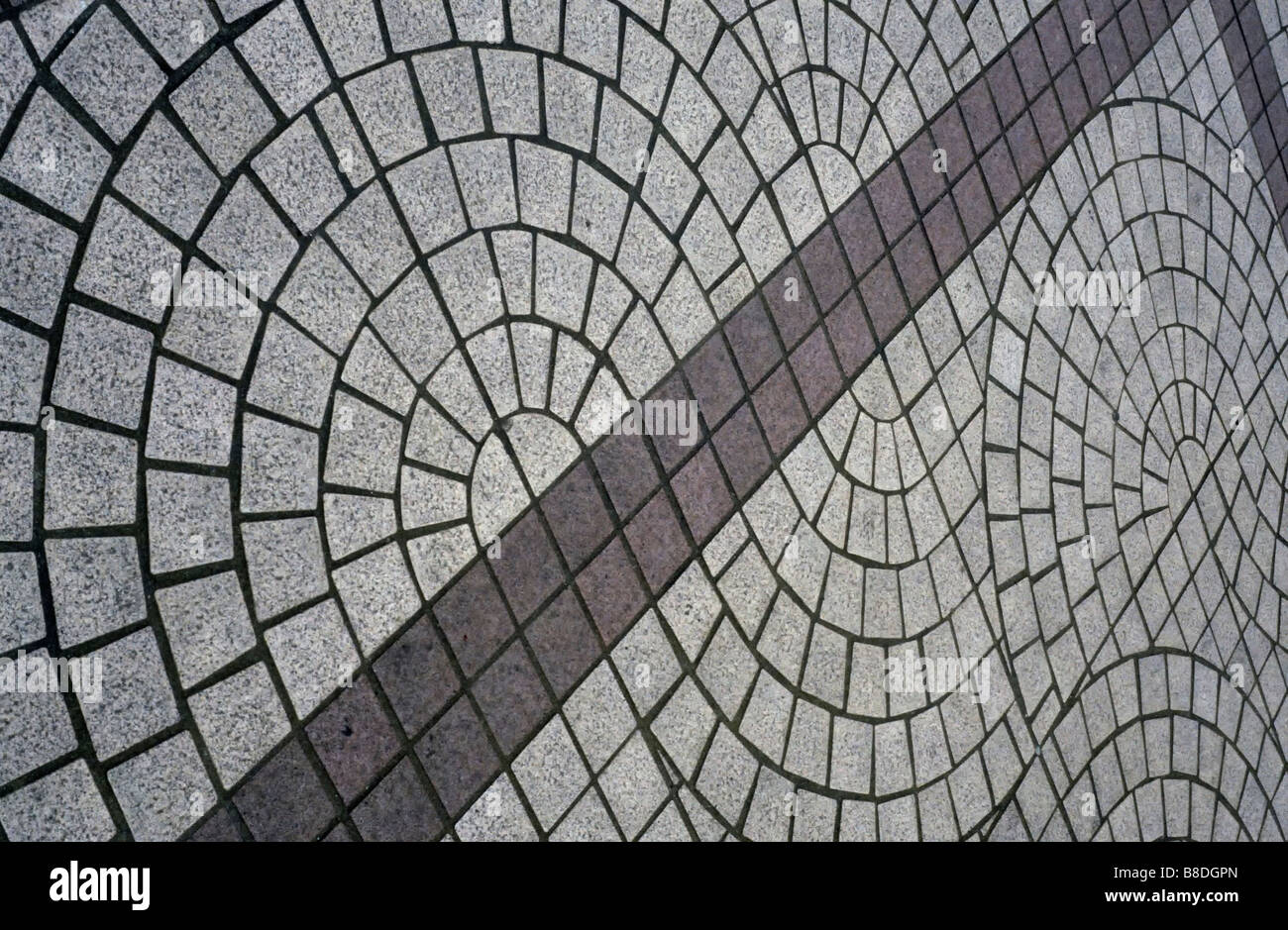Curved Floor tiles in Hong Kong Stock Photo: 22426173 - Alamy