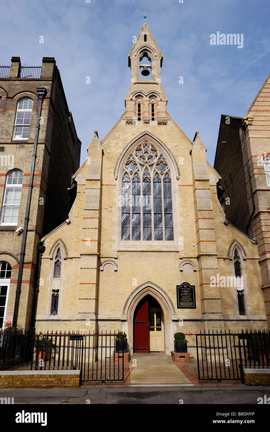Shoreditch Church: Catholic Church Of St Monica In Hoxton Square Shoreditch