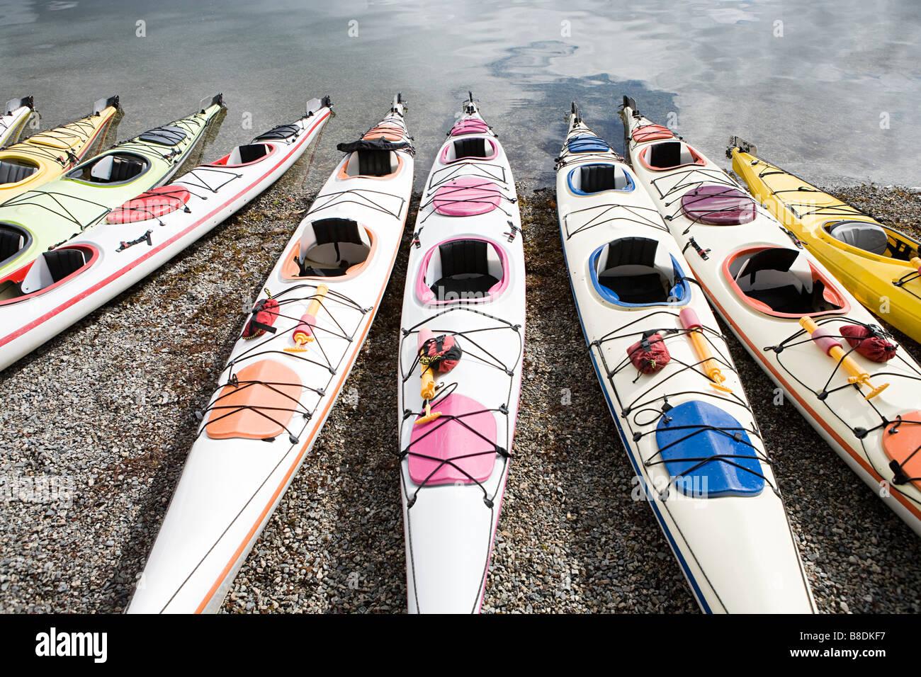 Kayaks - Stock Image