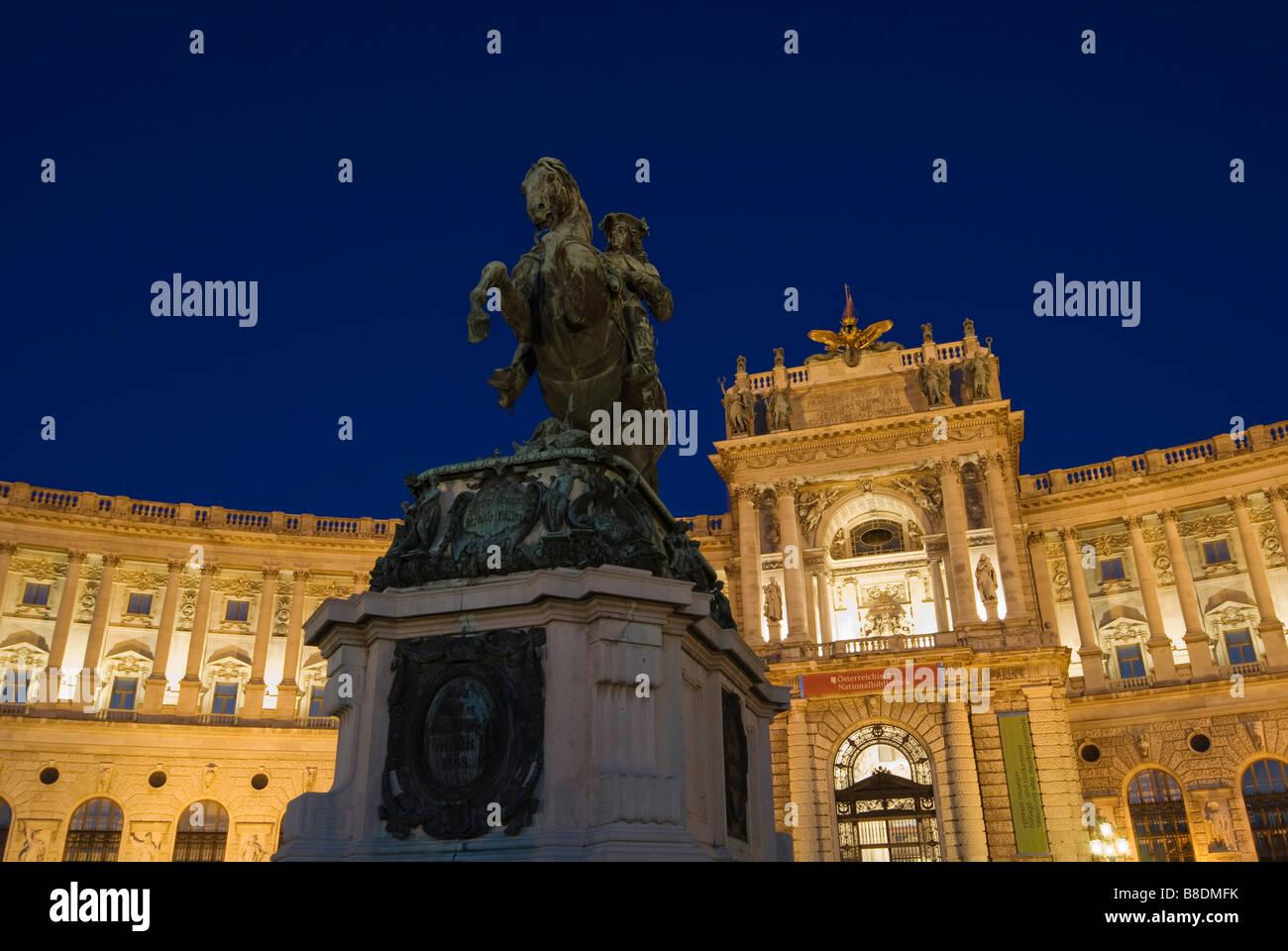Hofburg palace vienna Stock Photo