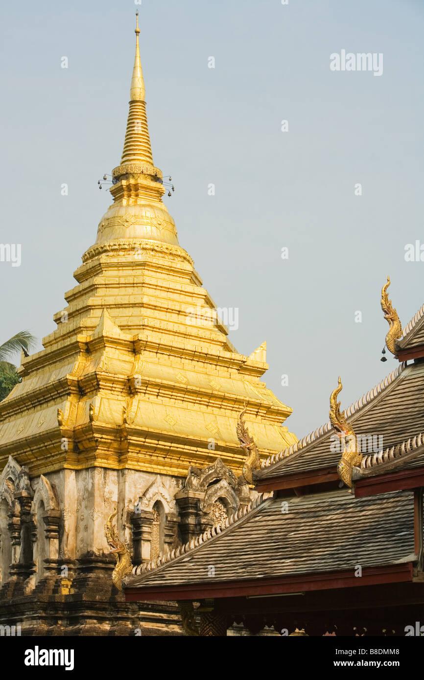 Wat chieng mun - Stock Image