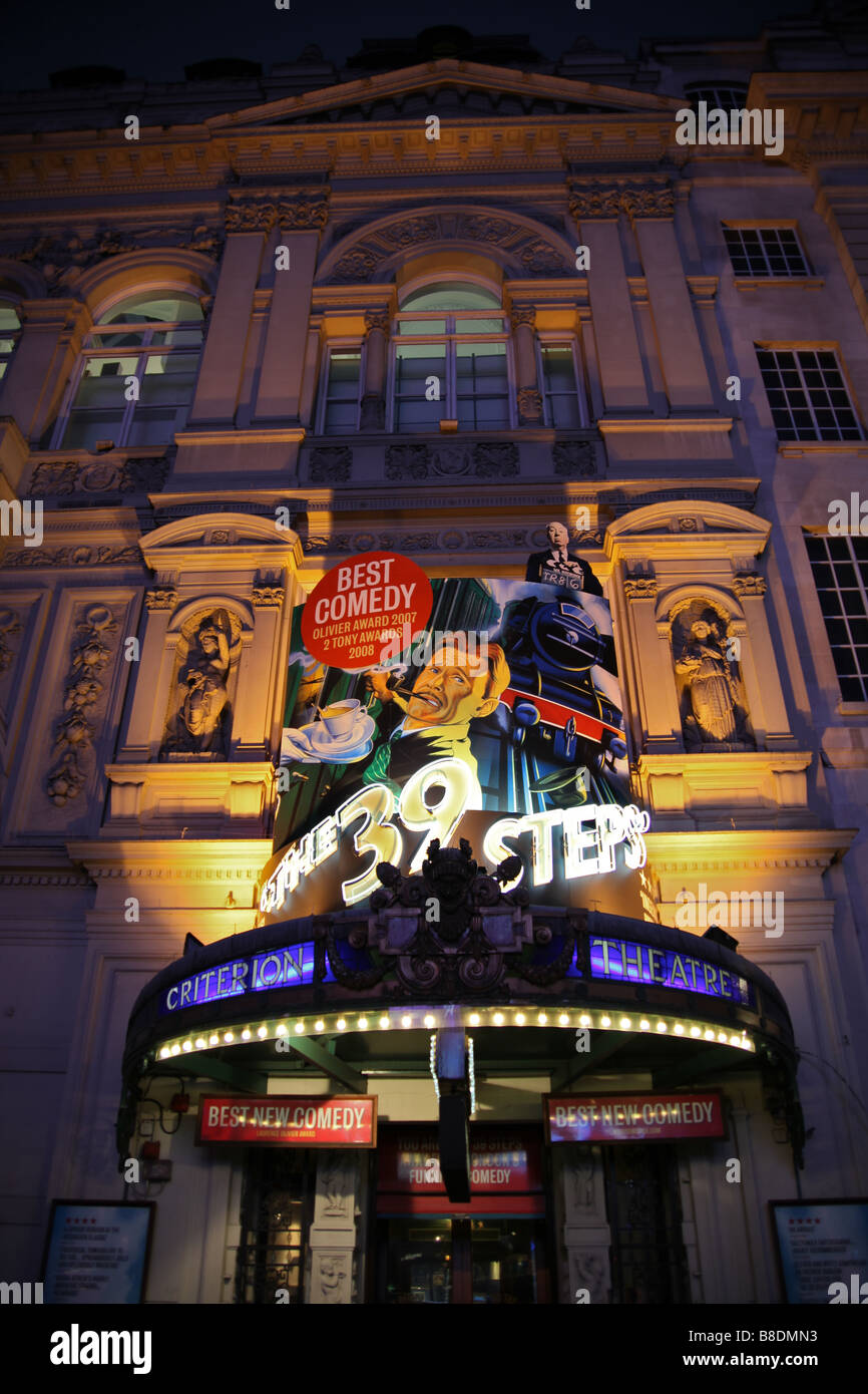 The Criterion theatre in London - Stock Image