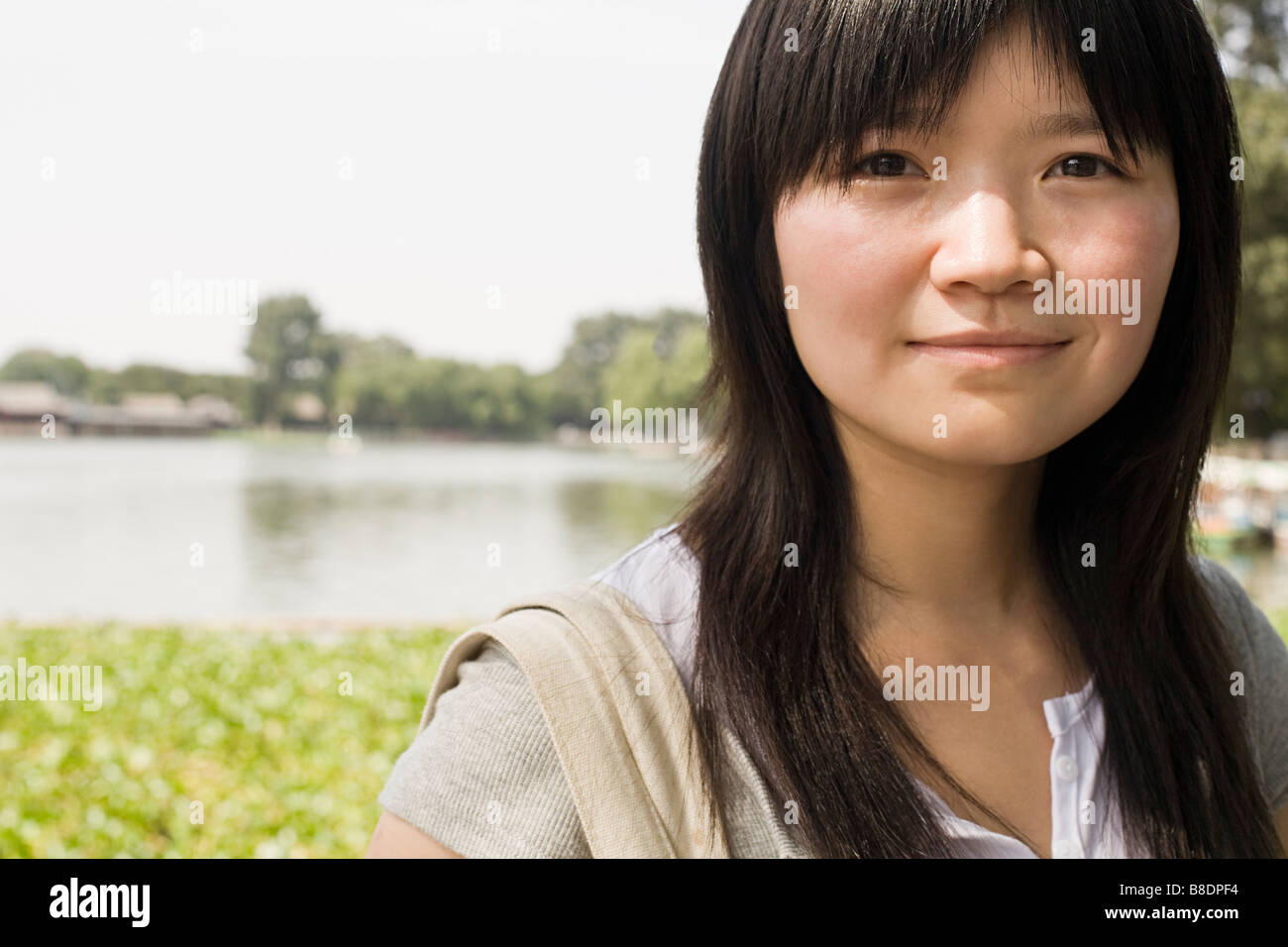 Young chinese woman - Stock Image