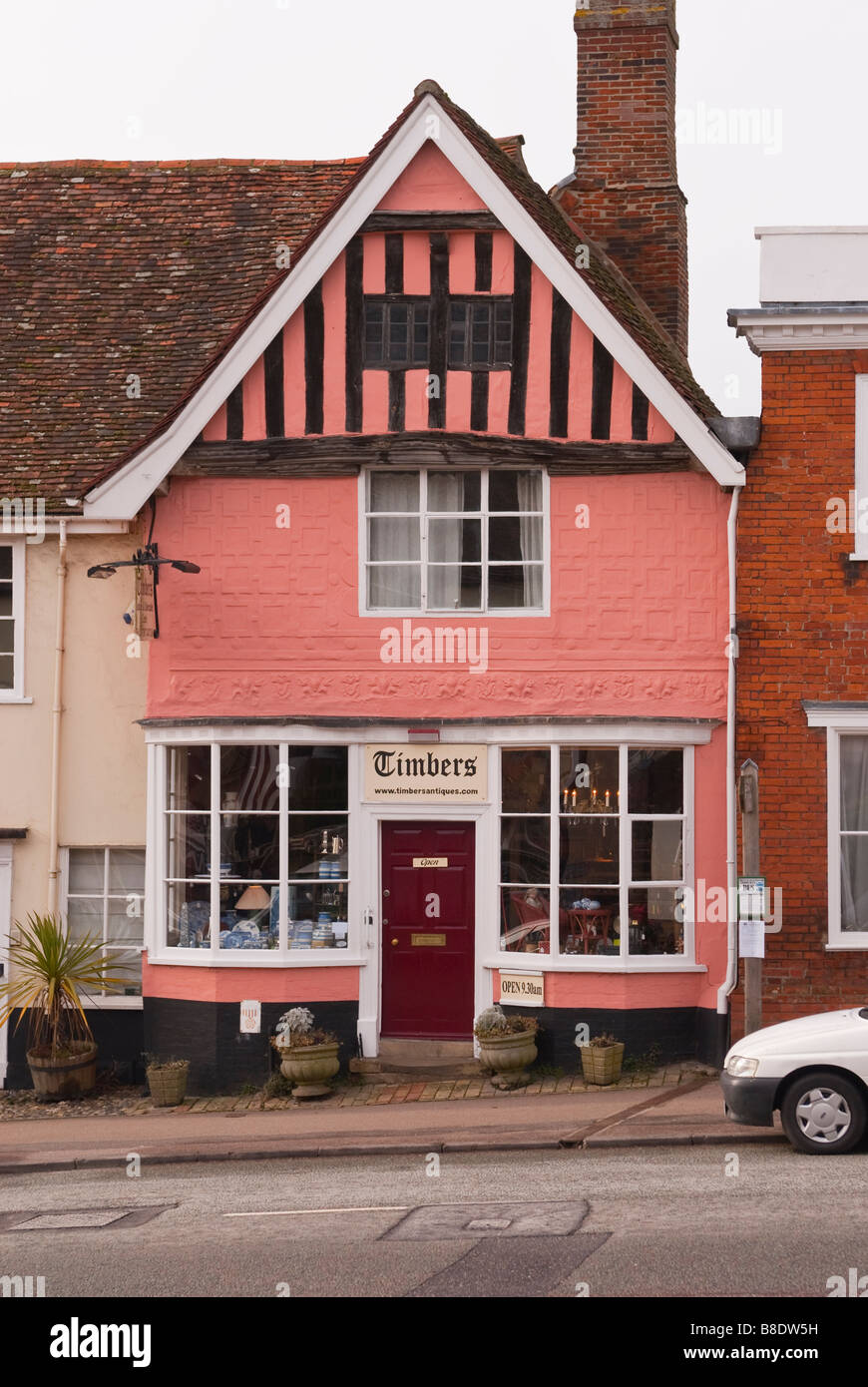 Timbers Antique Shop Store In Lavenham Suffolk Uk Selling Antiques