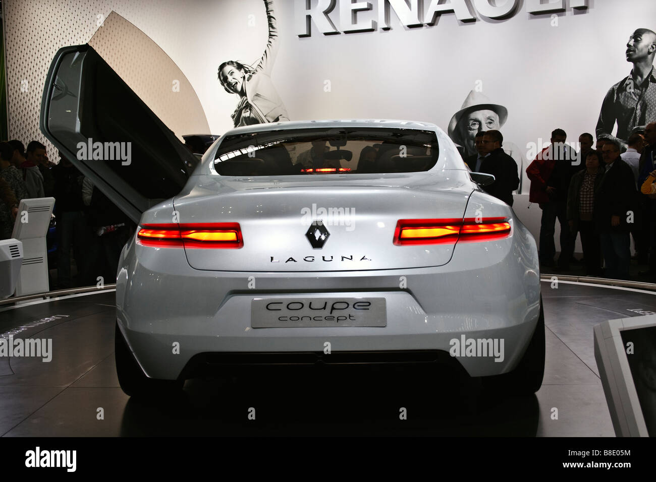 Renault Laguna Coupe at Zagreb Auto Show in Croatia from 28.3.2008. - 06. 04. 2008. - Stock Image