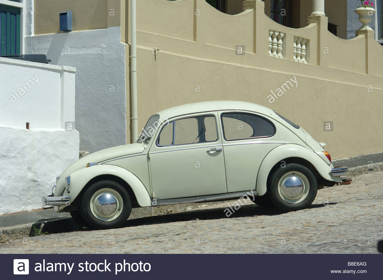 Old Vw Bug Vw Beetle Volkswagen White Stock Photo Alamy