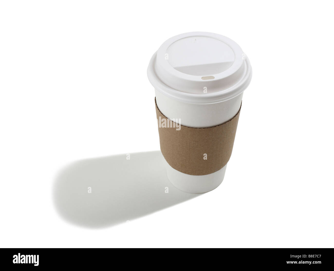 Take out disposable Coffee Cup - Stock Image