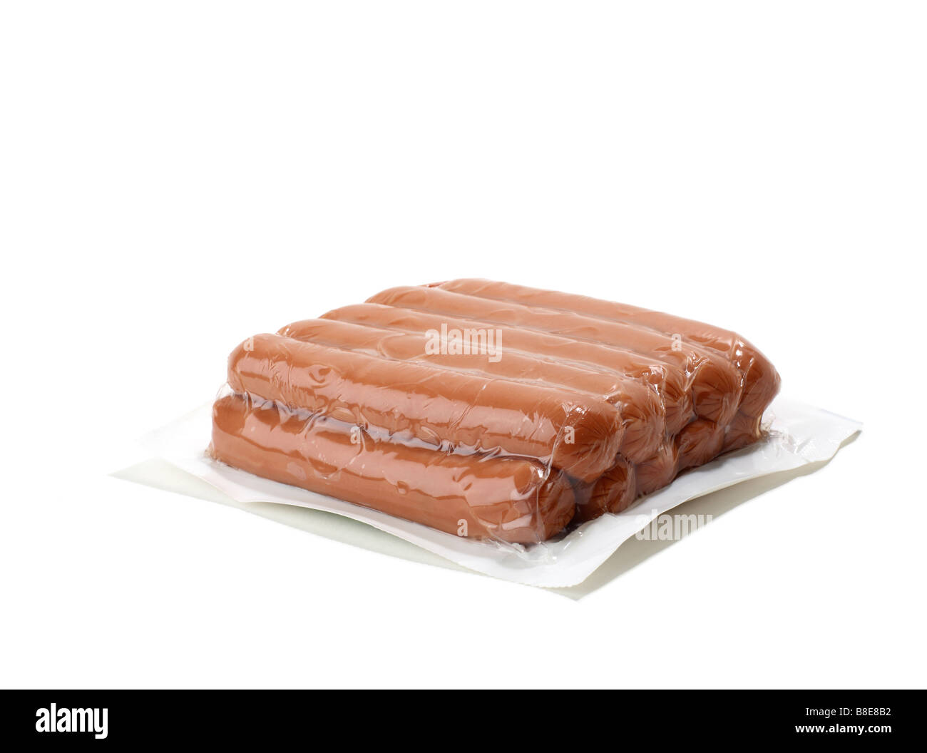 Package Of Hot Dogs - Stock Image