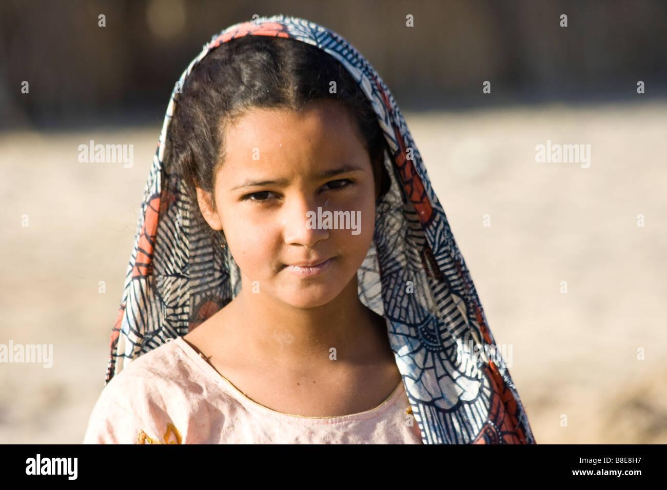 Mali Mädchen