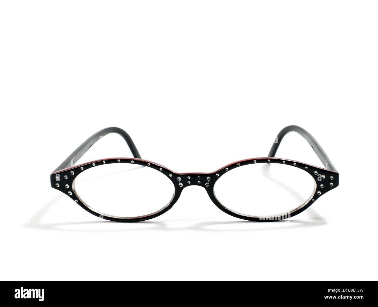 Women's fashion eyeglasses - Stock Image