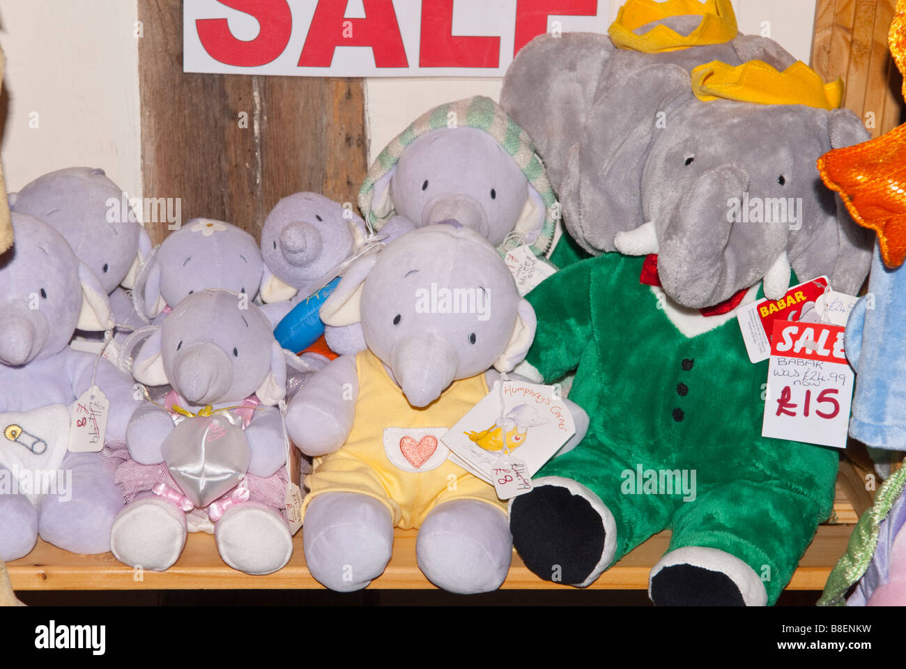 Toy Babar And Humphrey S Corner Elephants For Sale In A Uk Shop