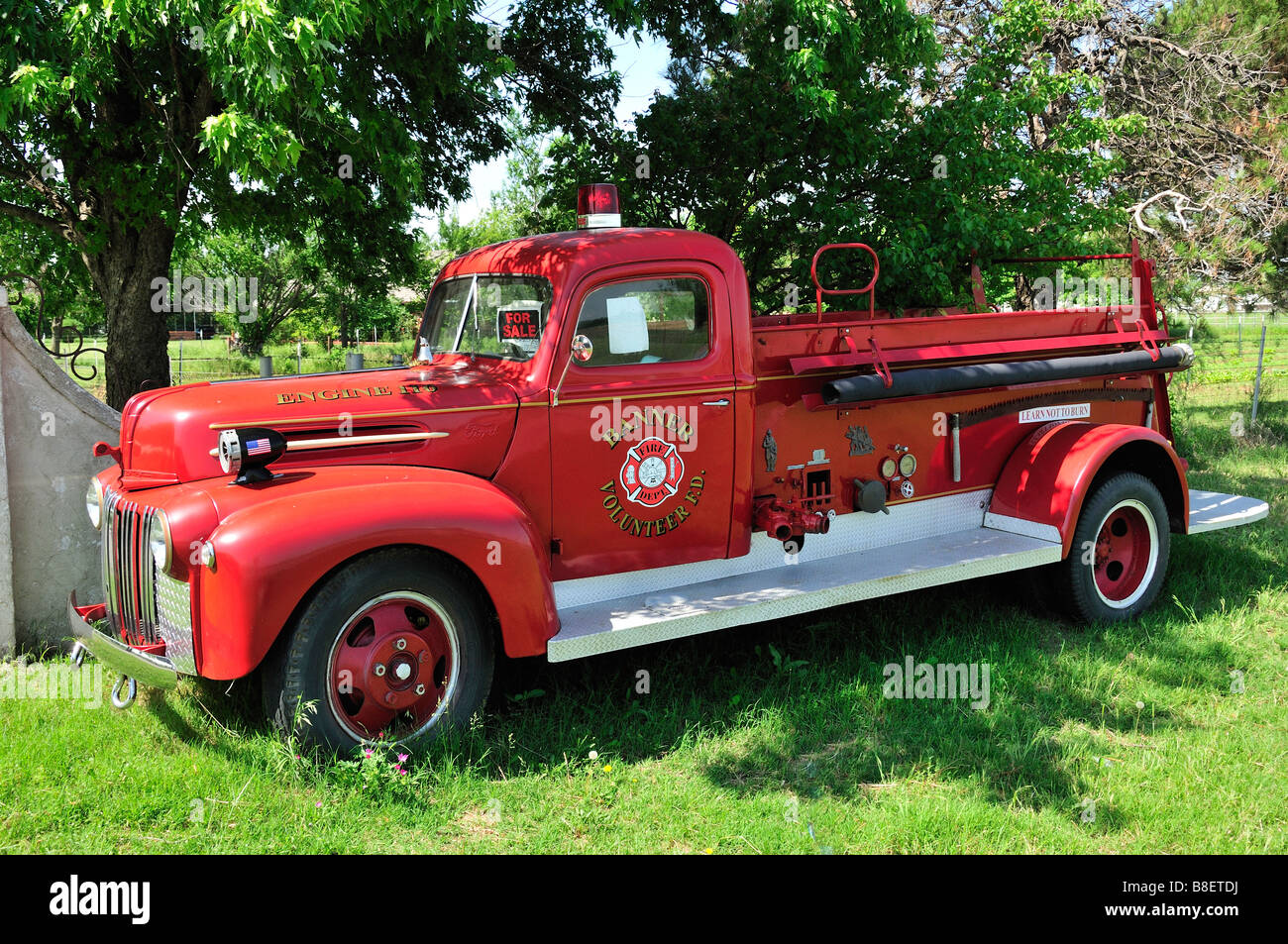 Old Fire Engine Sale Stock Photos & Old Fire Engine Sale Stock ...