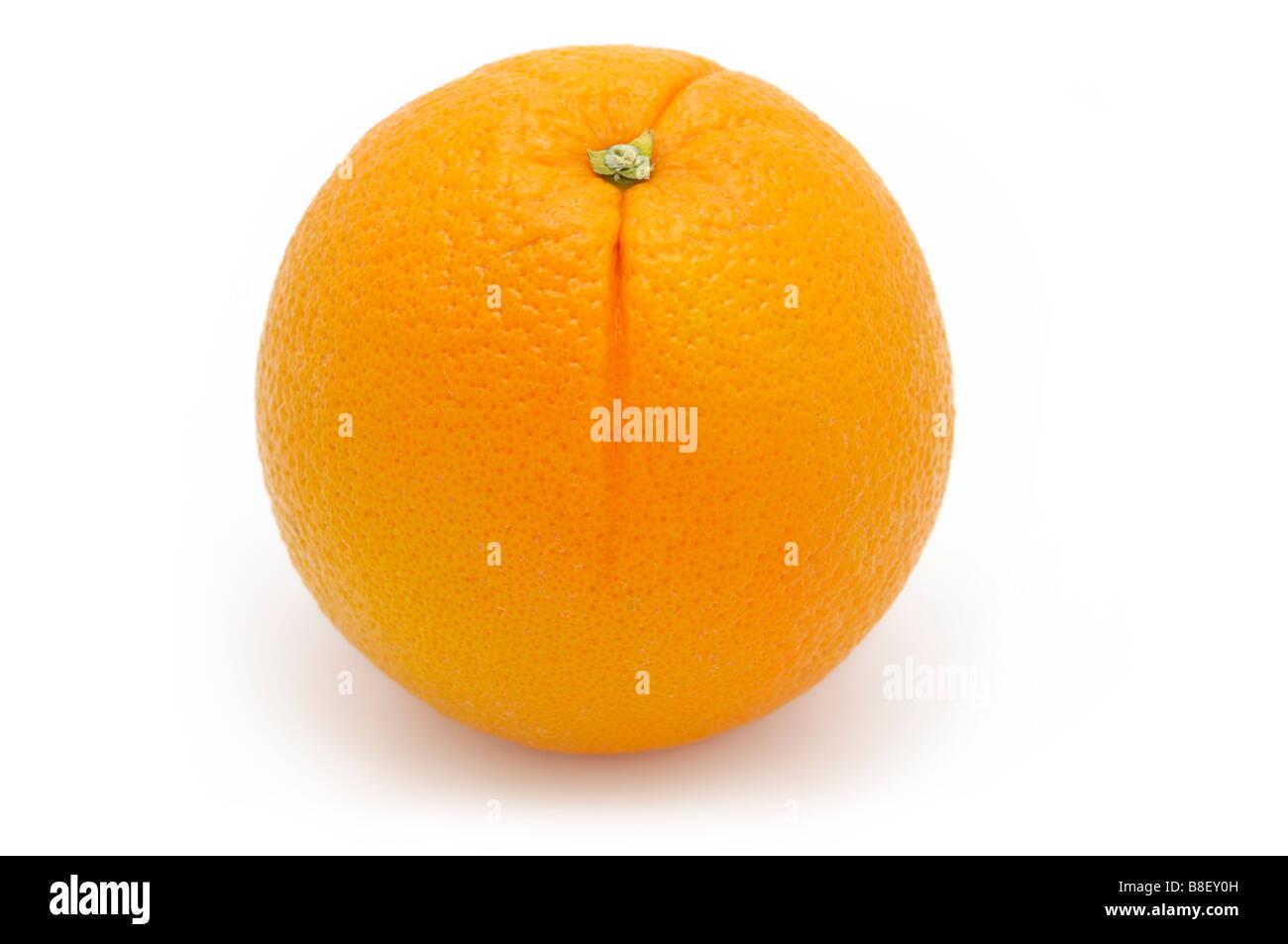 Whole Orange - Stock Image