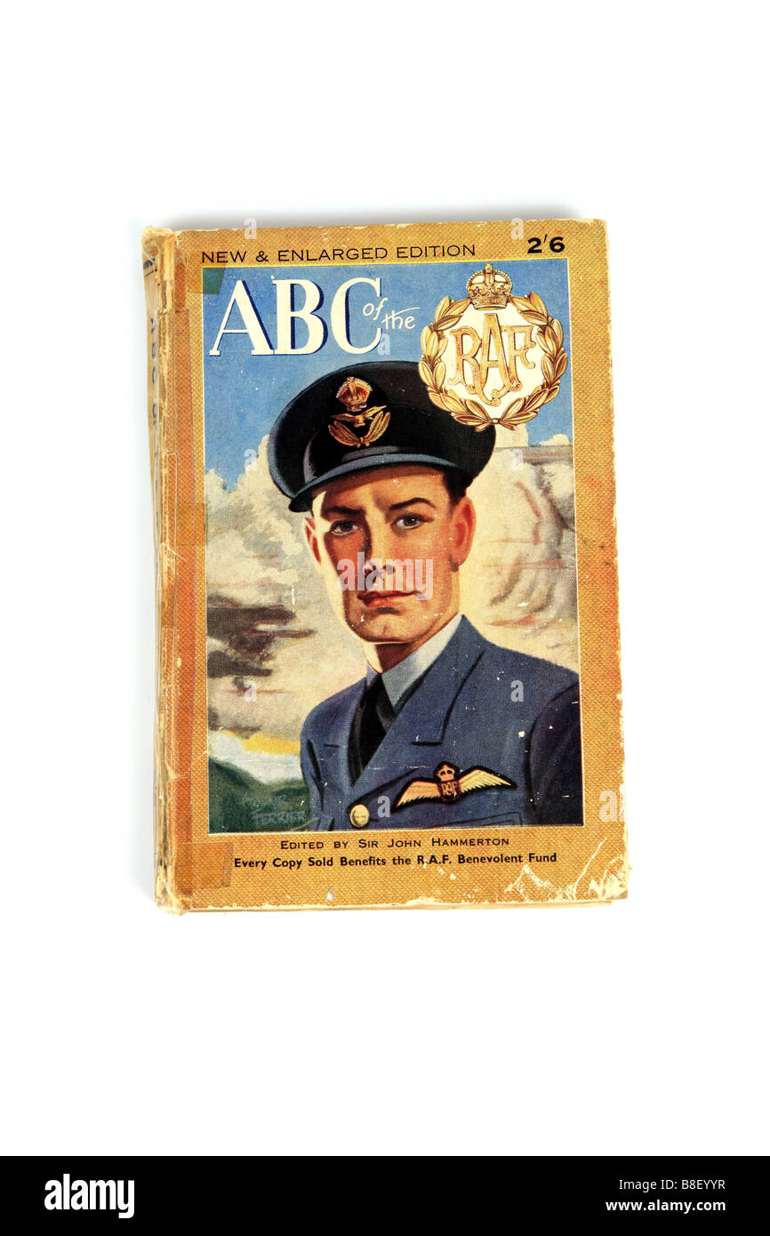 A World War Two Recruitment book about the British Royal Air Force - Stock Image