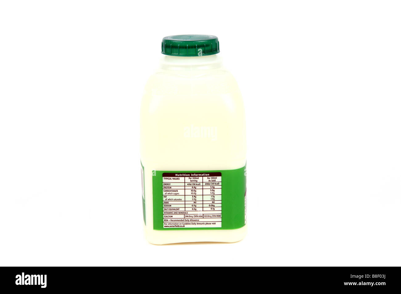 Semi Skimmed Milk Stock Photos Semi Skimmed Milk Stock