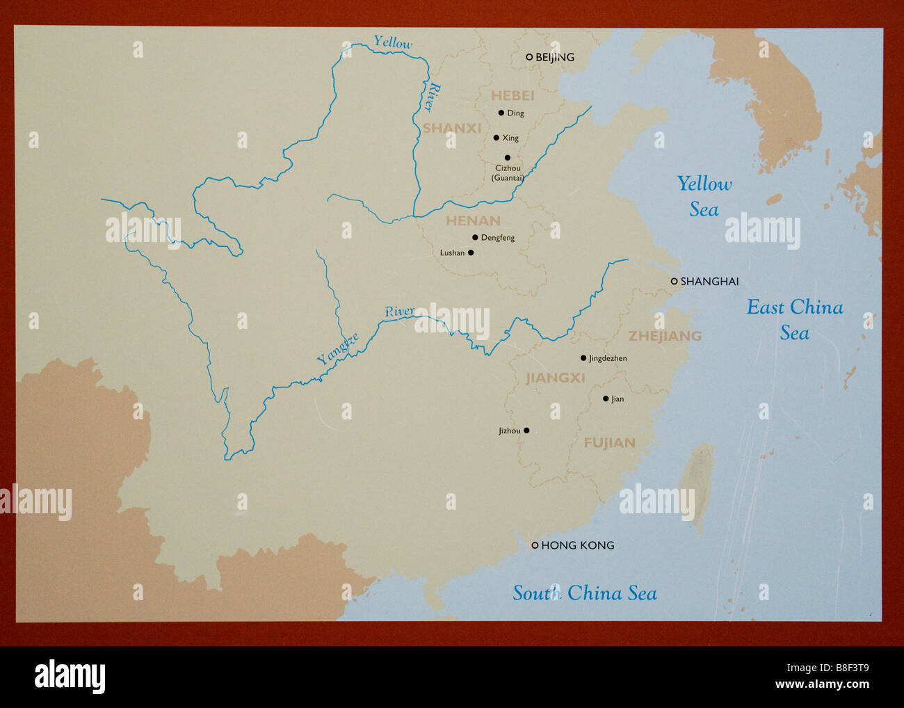 Rivers Map Of China.Map Of China Rivers Stock Photos Map Of China Rivers Stock Images
