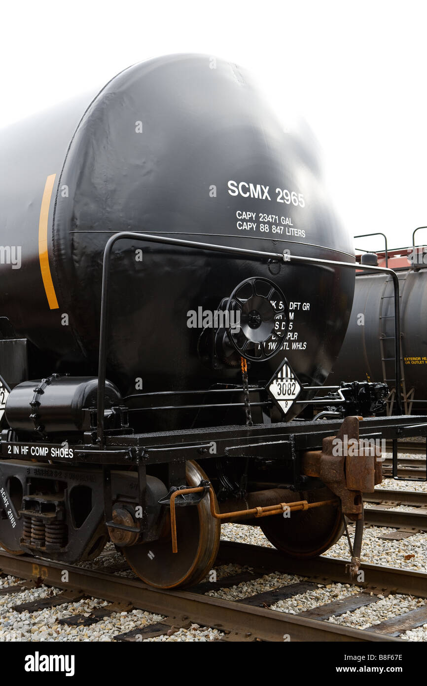 A railroad car - Stock Image
