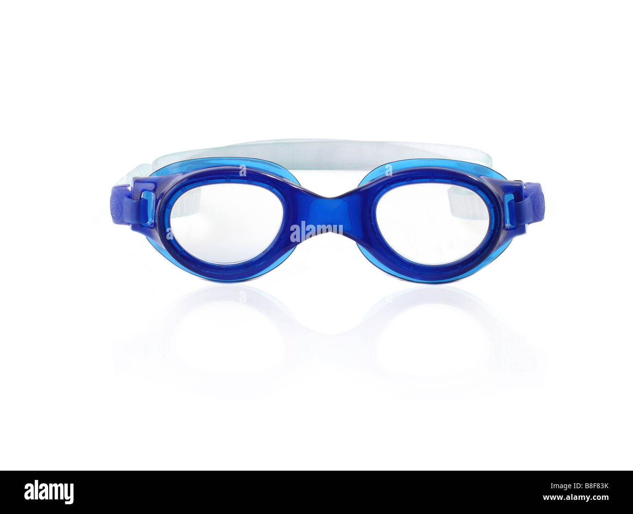 Studio shot of a swim or diving Mask - Stock Image