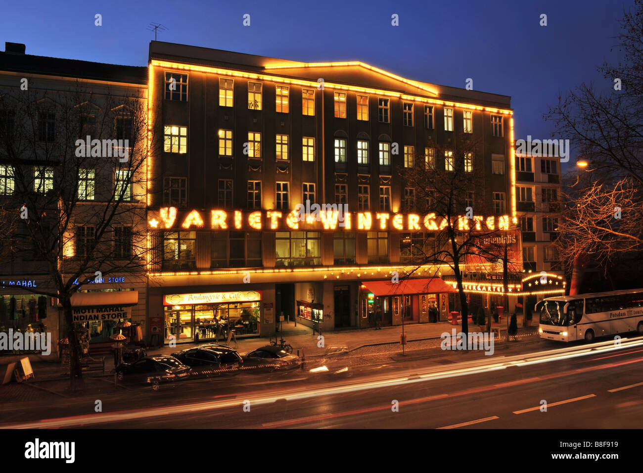 Wintergarten Varieté Berlin Germany City - Stock Image