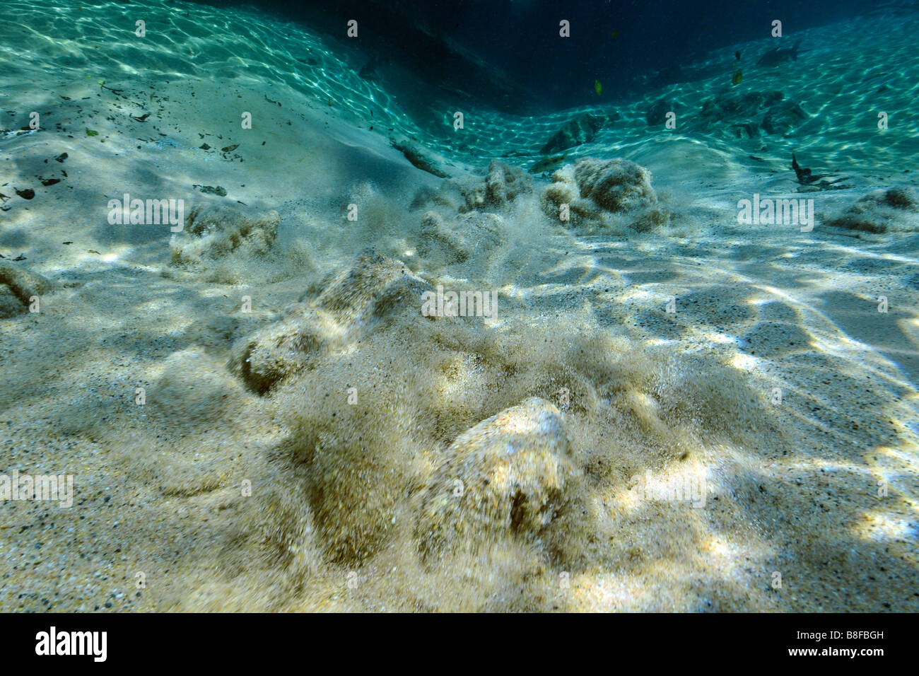 Underwater Volcano Stock Photos Underwater Volcano Stock