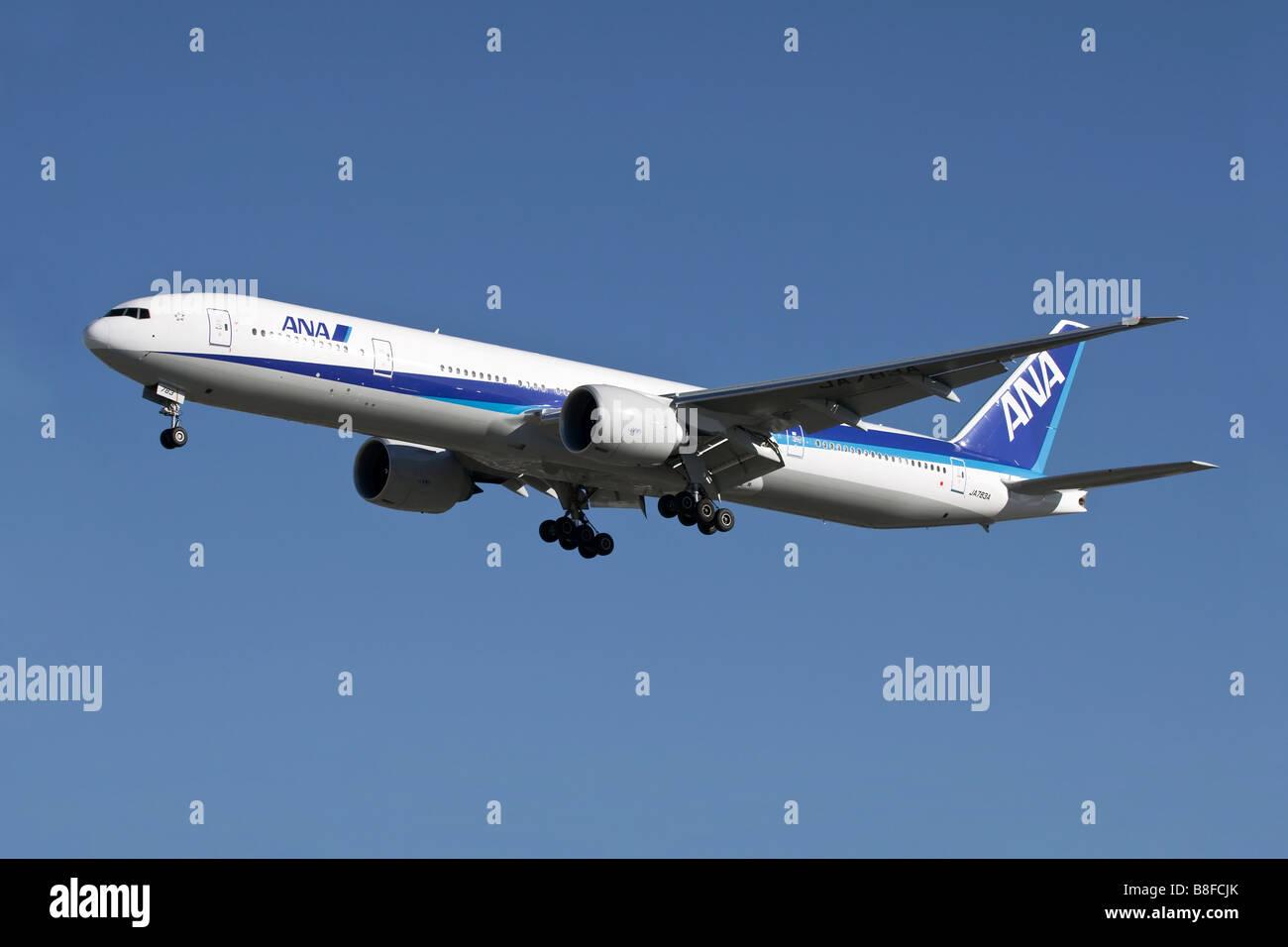 Transatlantik astar Boeing 777