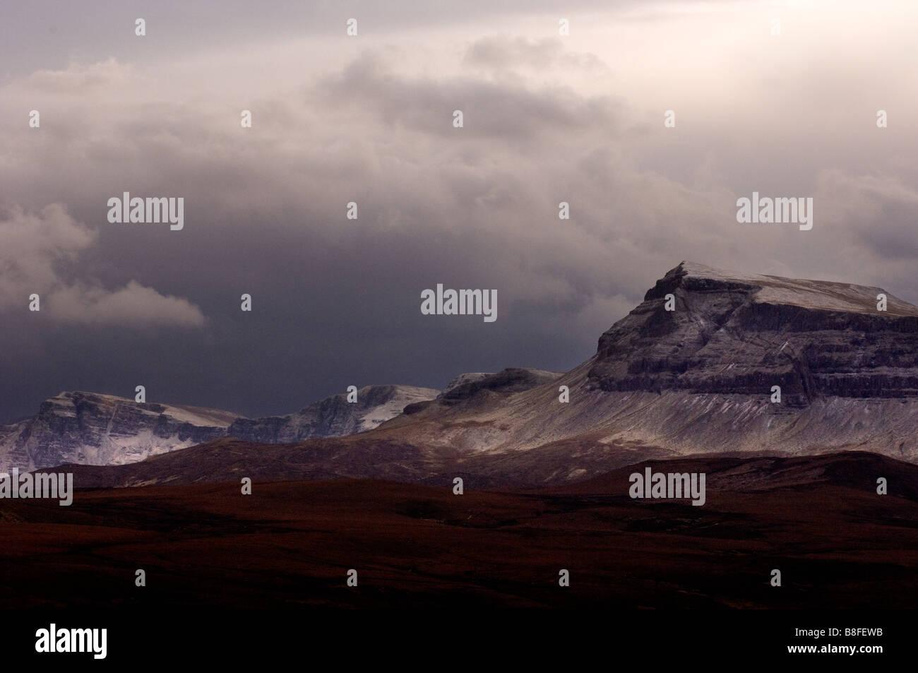 isle of skye scotland highlands - Stock Image