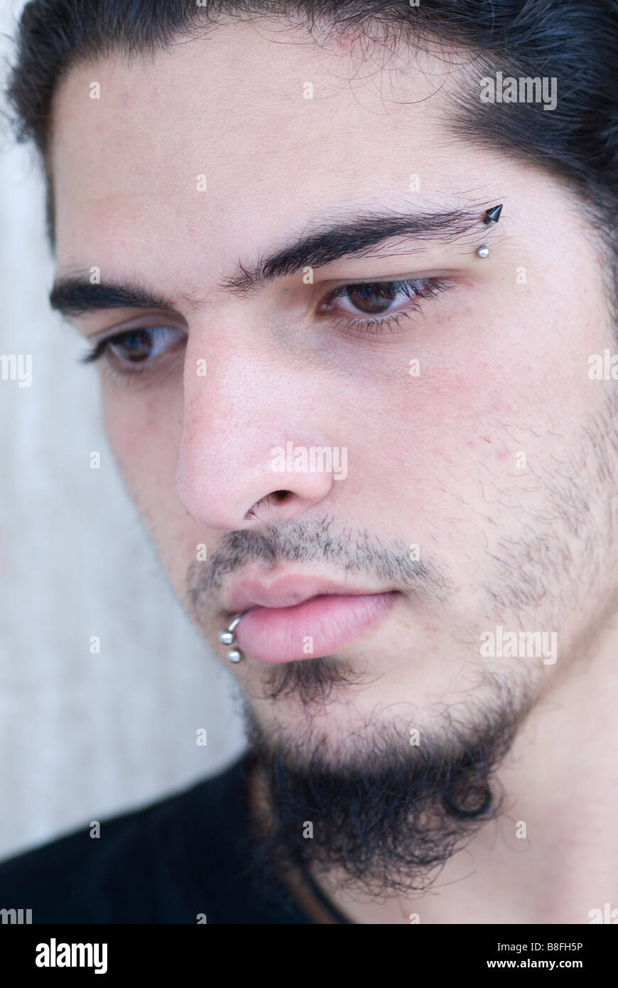 Pierced Eyebrow Stock Photos Pierced Eyebrow Stock Images Alamy