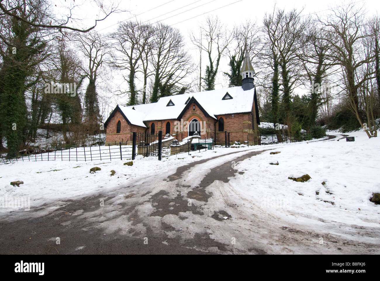 The Church Of St Chad With Snow Church Of England Church Mansfield