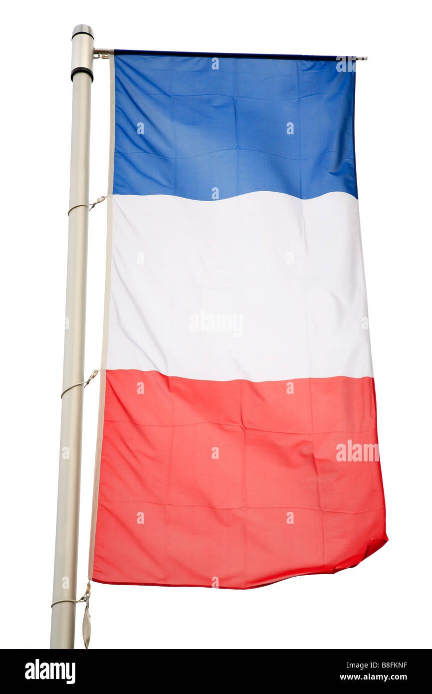 French national flag - Stock Image