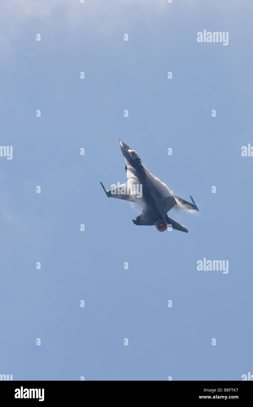 F-16 Fighting Falcon. - Stock Image